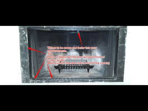 Fireplace Doors for a Challenging Prefab Fireplace