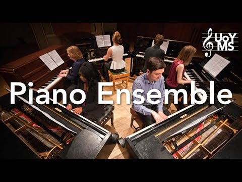 Piano Ensemble – UoY Music Society Lunchtime Concert 15-6-18