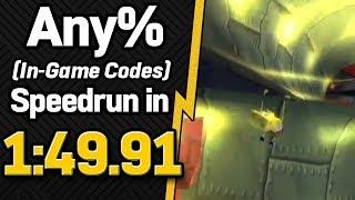 SS: Battle for Bikini Bottom Any% (In-Game Codes) Speedrun in 1:49.91 (WR on 11/14/2018)