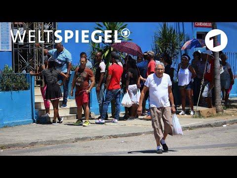 Kuba: Ein Land Lebt Mit Der Krise | Weltspiegel