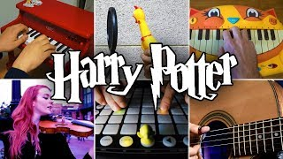 Who Played It Better: Harry Potter Hedwig's Theme (Chicken, Guitar, Violin, Cat Piano, Launchpad)