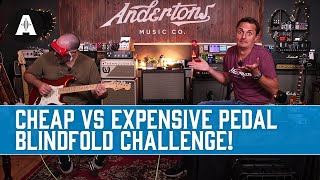 Guess the Cheap vs Expensive Pedal Blindfold Challenge! - Can You Hear The Difference?