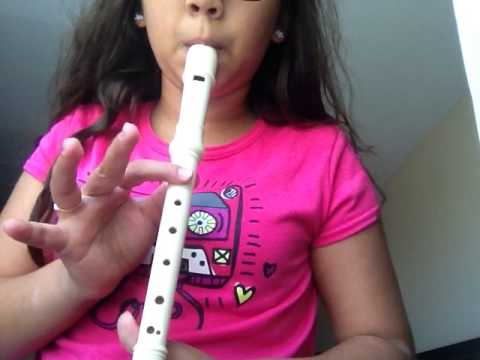 Black belt Ode To Joy recorder karate