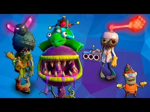 видео: All Legendary Items (Hats) - Plants vs Zombies Garden Warfare 2