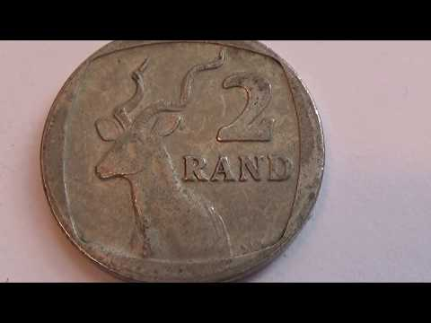 South Africa 2 Rand Coin