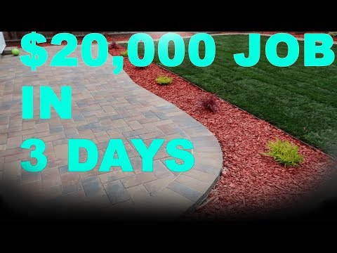 Maximizing Profit In Landscaping  and Lawn Care Business ($20,000 in  3 Days)