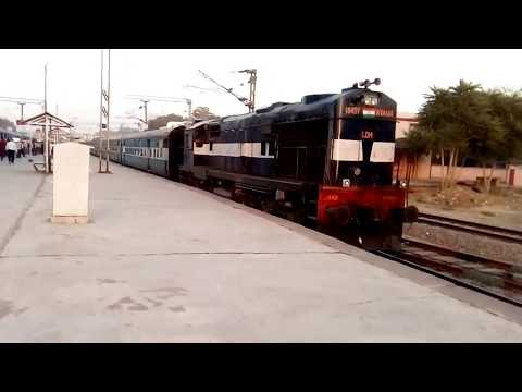 Bayana Phulera passenger departing from Sawai Madhopur Junction