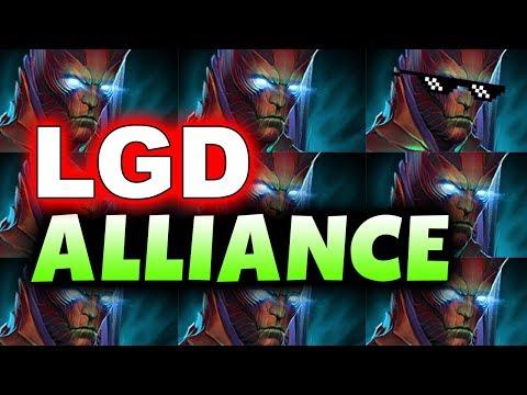 ALLIANCE vs PSG.LGD - TERRORBLADED! - KUALA LUMPUR MAJOR DOTA 2