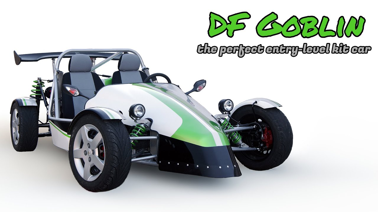 Build Your Own Car Kit >> Df Goblin Build Your Own Mid Engine Sports Car Youtube