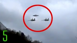 The most mysterious UFO sightings and encounters by aircraft in his...
