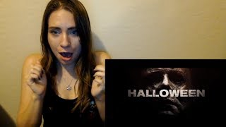 Halloween (2018) Official Trailer Reaction