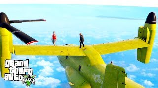 GTA 5 - INCREDIBLE SKY HIGH SHENANIGANS! (GTA 5 Doomsday DLC)
