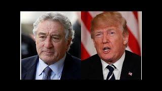 Robert De Niro says Donald Trump is one role he'd never play