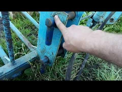 Как сделать вилы на кун своими руками для погрузки сена