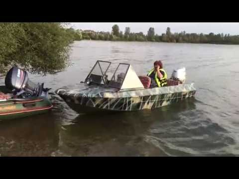 Лодка Крым Honda 50 vs. Kolibri RIB Yamaha 40
