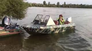 видео Лодочный мотор Хонда 40