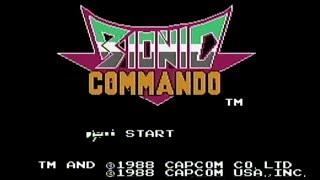 Bionic Commando - NES Gameplay