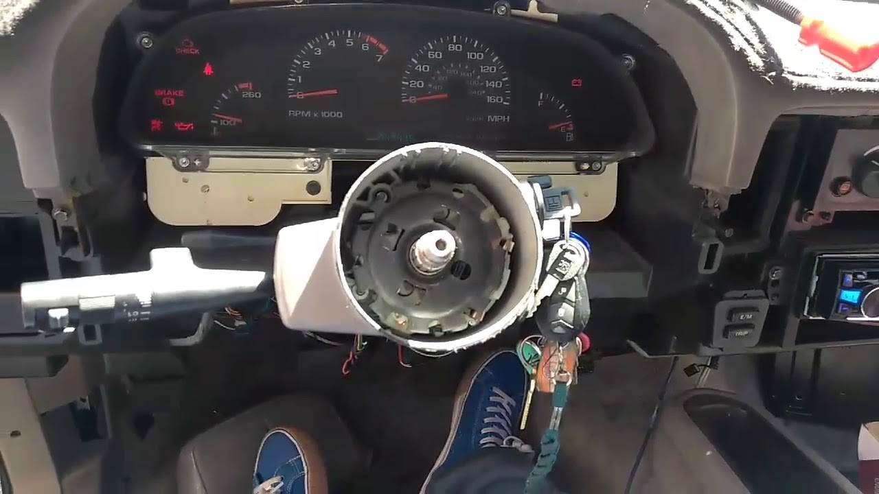 hight resolution of 96 impala turn signals not working