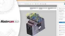 Mastercam 2021 | Ausgabe als 3D-PDF-Datei | CAD/CAM-Software