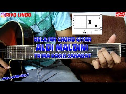 ALDI MALDINI - TRIMA KASIH SAHABAT (tutorial Kunci/chord Gitar Asli) RIVO LINDO