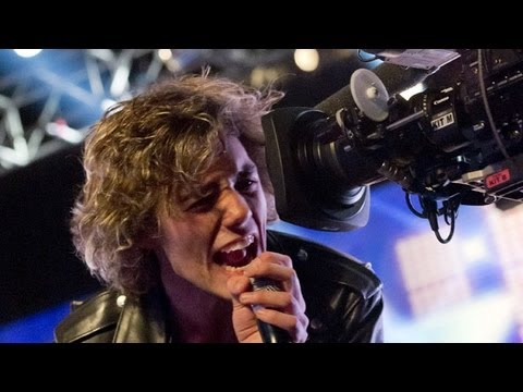 Eddie String's audition - The Strokes' Last Nite - The X Factor UK 2012