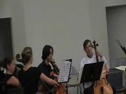 Mystery, original work for cello quartet by Paul Fleury