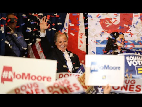 Democrat Doug Jones wins Alabama Senate seat: