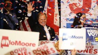 Democrat Doug Jones wins Alabama Senate seat: 'this race has been about dignity' thumbnail