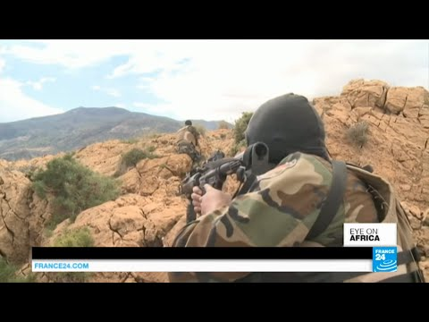 Report alongside special forces besieging jihadists in Tunisia