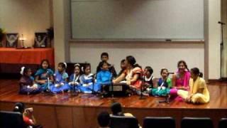 sukno patar rabindra nazrul sandhya 2009 antorik