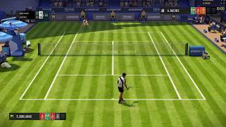 Tennis World Tour - Epic Rally In Wimbledon (NEW PATCH 1.02) PS4