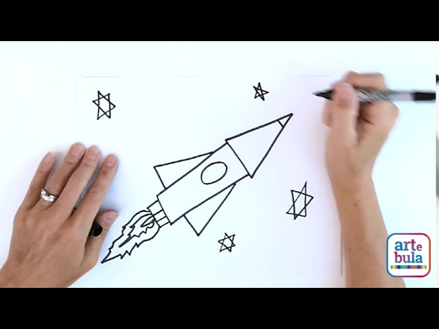 How to Draw a Rocketship