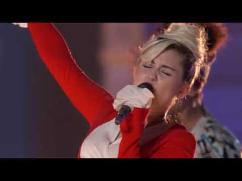 Miley Cyrus, Alicia Keys, Adam Levine and Blake Shelton   Dream On    The Voice 2016