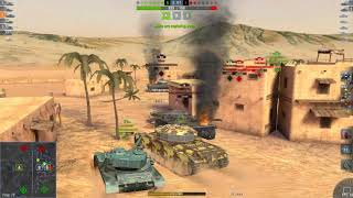 World Of Tanks Blitz Game Play (Centurion 7/1) v4.3.0