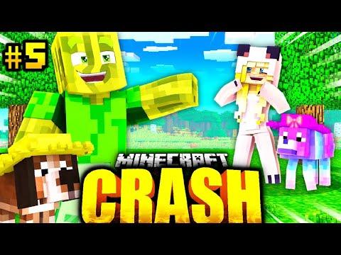 BILLY & FLO TREFFEN auf ISY & LILLY?! - Minecraft CRASH #05 [Deutsch/HD]