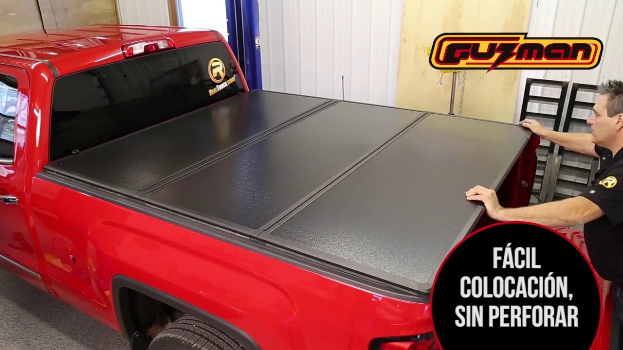Rugged Hard Fold Tonneau Cover You