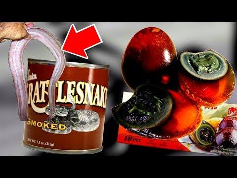 20 странных продуктов