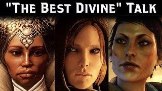 "Dragon Age INQUISITION ► Cassandra vs Vivienne vs Leliana - ""The Best Divine"" Talk"