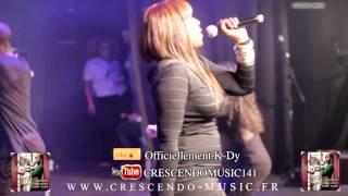 K-Dy extrait concert VIP SHOW, réalisé par Acétone CRESCENDO-MUSIC