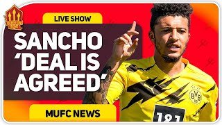 SANCHO DEAL AGREED!! Man Utd Transfer News|The United Stand
