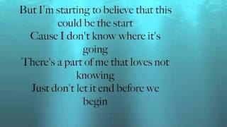 Daughtry Start Of Something Good Lyric Video