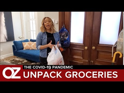 How To Unpack And Disinfect Your Groceries