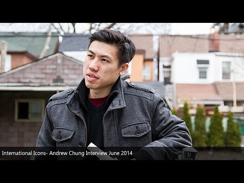 International Icons- Andrew Chung Interview