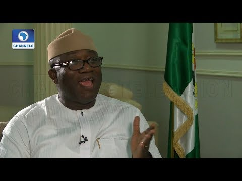 A Chat With Governor Kayode Fayemi |Channels Bookclub|