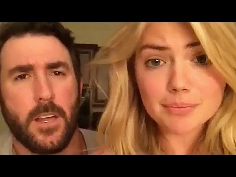 Kate Upton & Justin Verlander Recreate 'Step Brothers' Scene