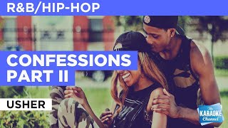 Confessions Part II : Usher | Karaoke with Lyrics