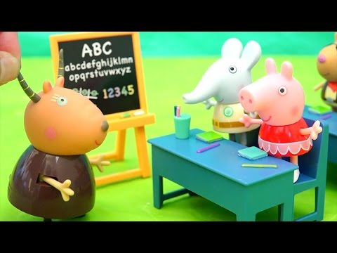 Peppa Pig Toys for Kids - End of School Year Party - Stories With Toys & Dolls Kid-Friendly Video