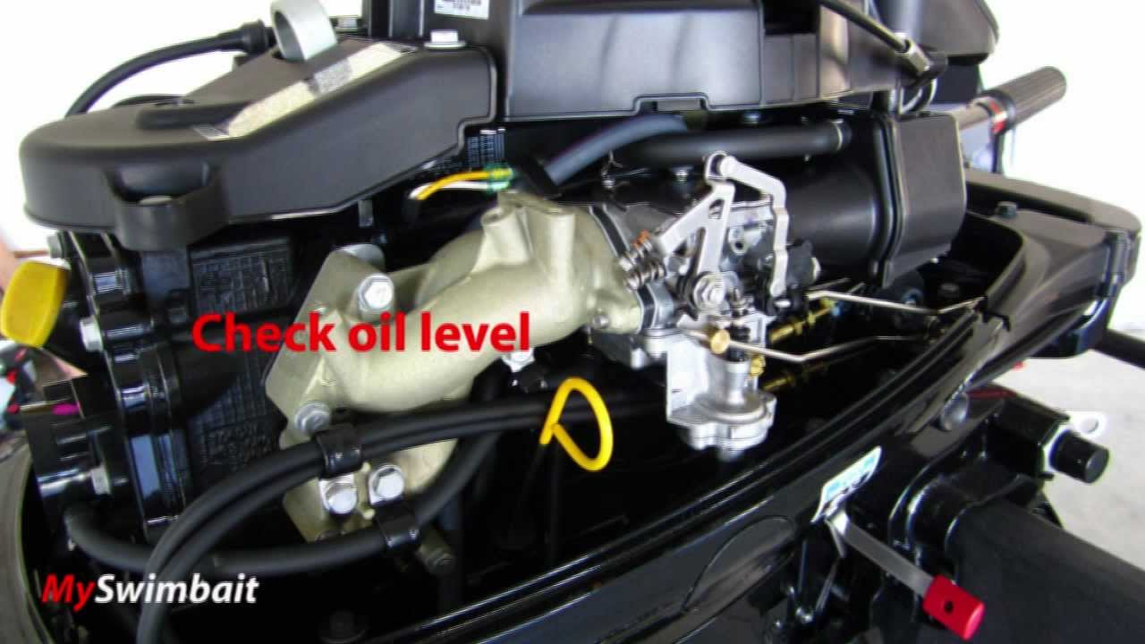 2012 Mercury Outboard 15HP Four Stroke - How To Break-In A New Outboard  Motor!