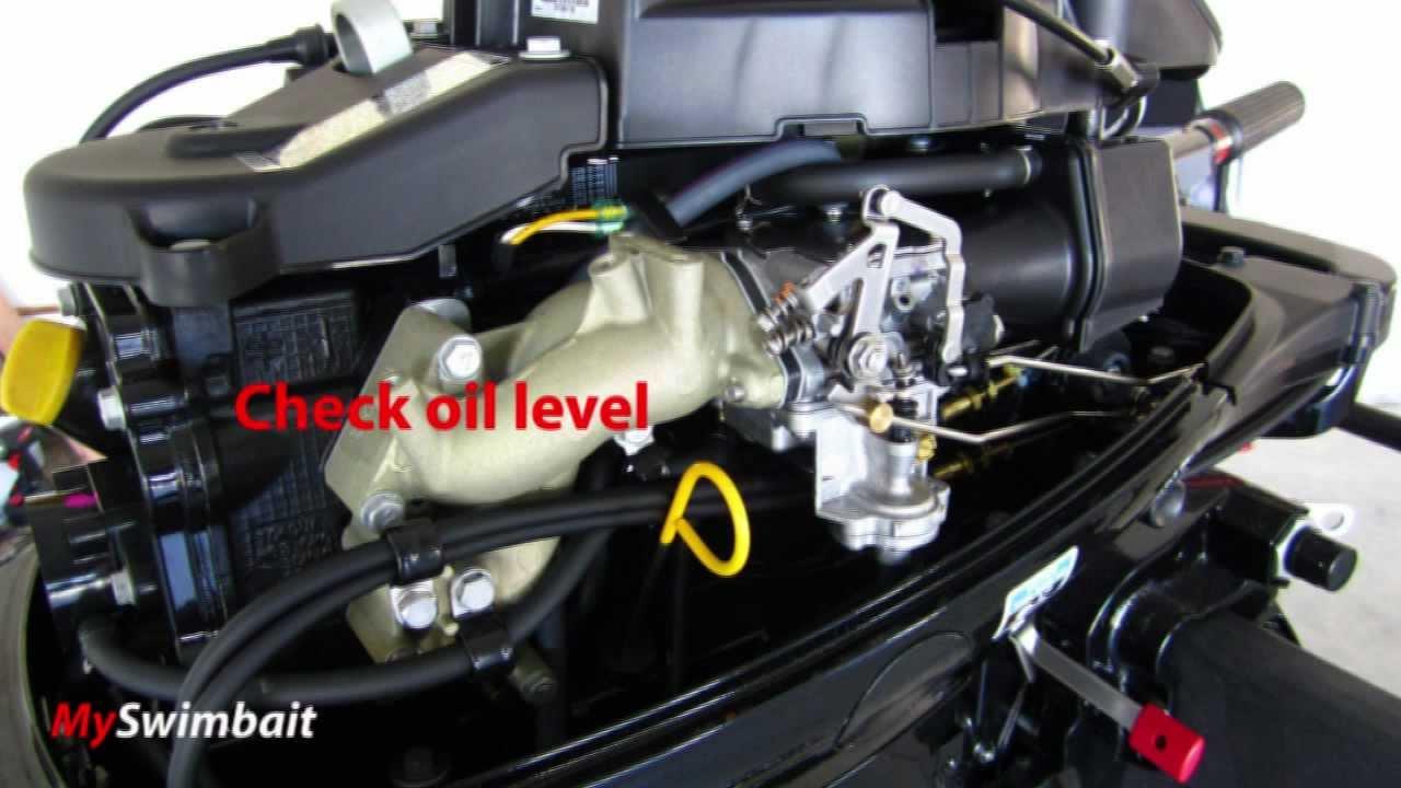 2012 Mercury Outboard 15HP Four Stroke  How To BreakIn A