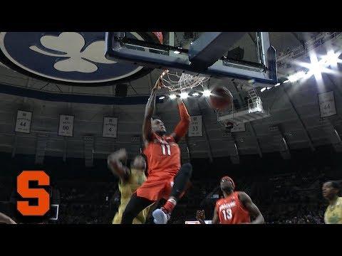 Syracuse\'s Oshae Brissett Attacks The Rim With Emphatic Dunk